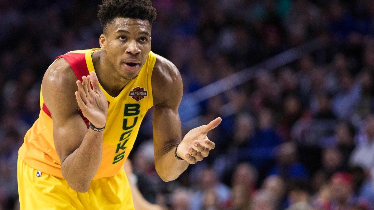Giannis Antetokounmpo est le joueur par excellence de la saison 2018 — NBA