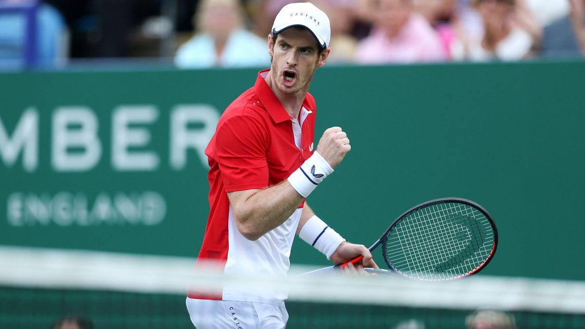 Andy Murray jouera le double mixte avec une certaine... Serena Williams — Wimbledon