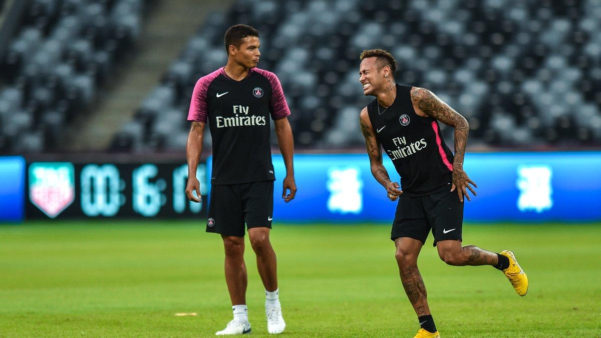 PSG, Barça - Mercato : Thiago Silva fait déjà ses adieux à Neymar