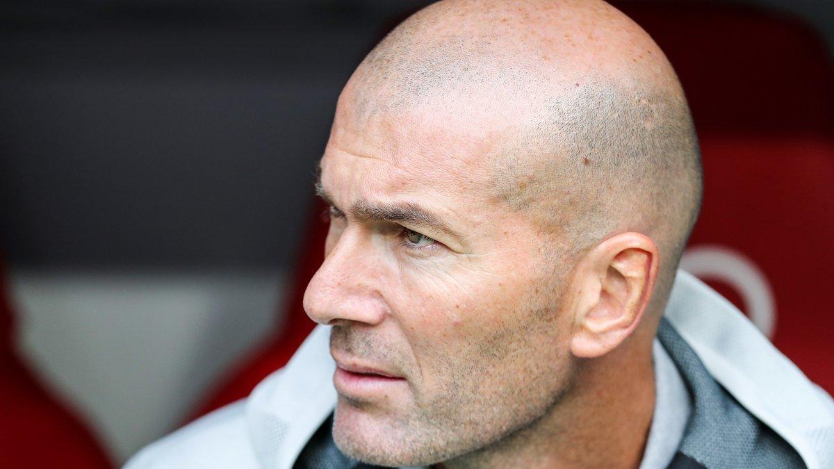 Zinedine Zidane évoque la mauvaise période de son équipe
