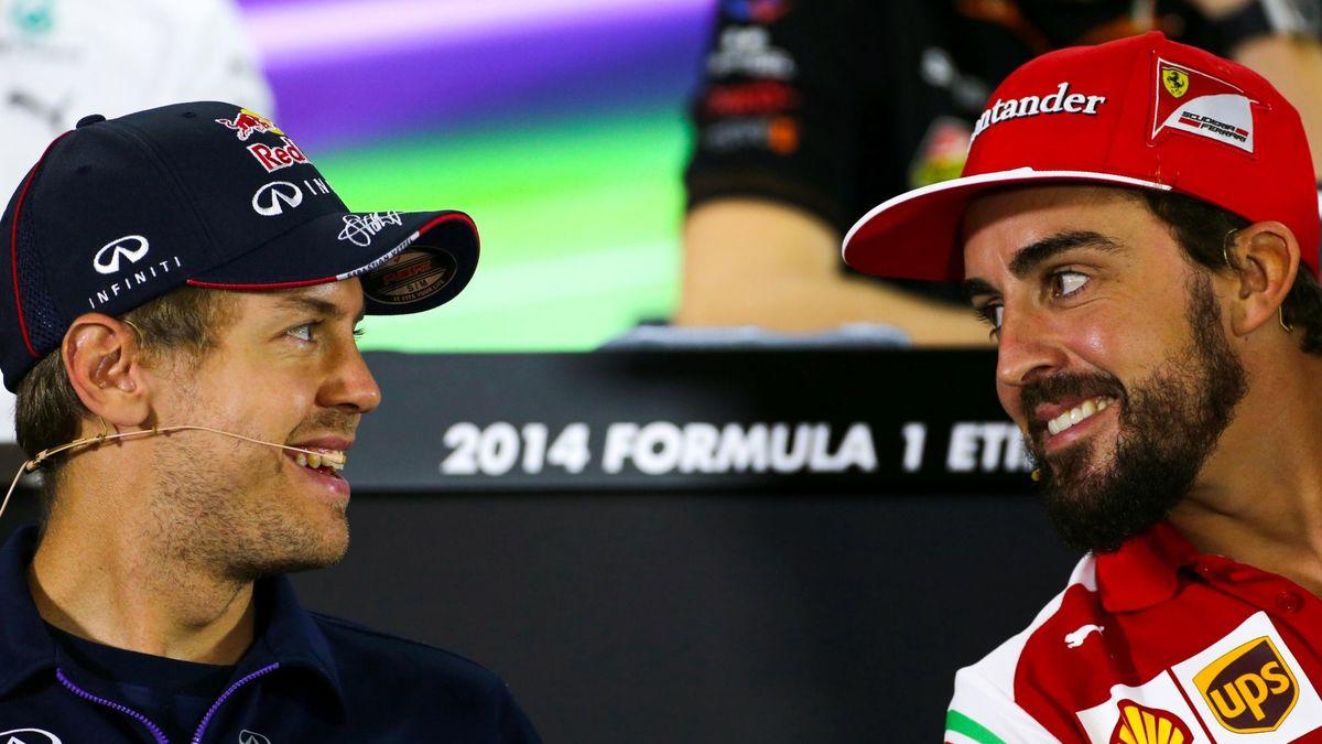 Formule 1 : Vettel tacle sèchement Fernando Alonso !