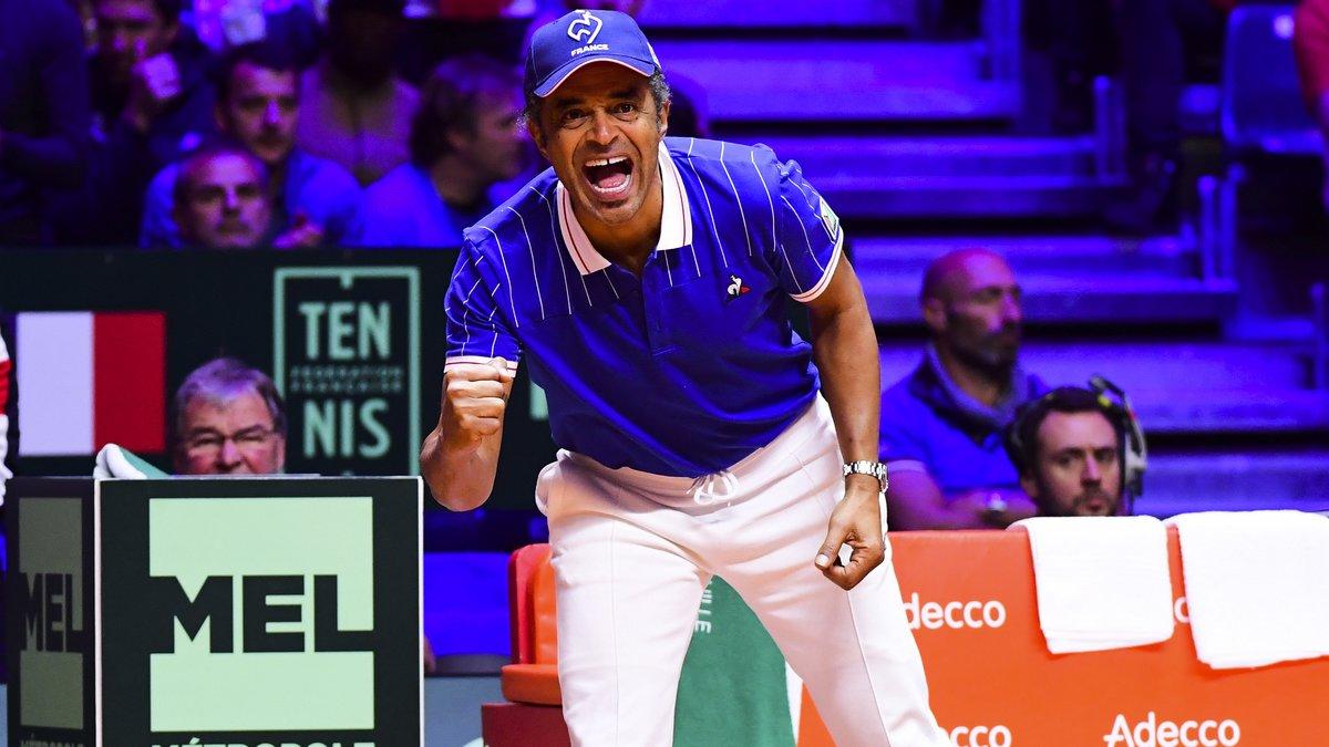 La France en demies en battant la Grande-Bretagne — Coupe Davis