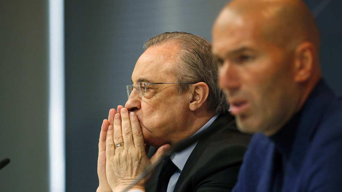 Mercato - Real Madrid : Pérez aurait lancé un ultimatum à Zidane !