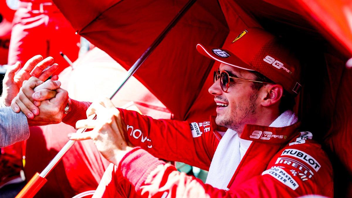 Formule 1 : Charles Leclerc s'enflamme pour Lewis Hamilton !