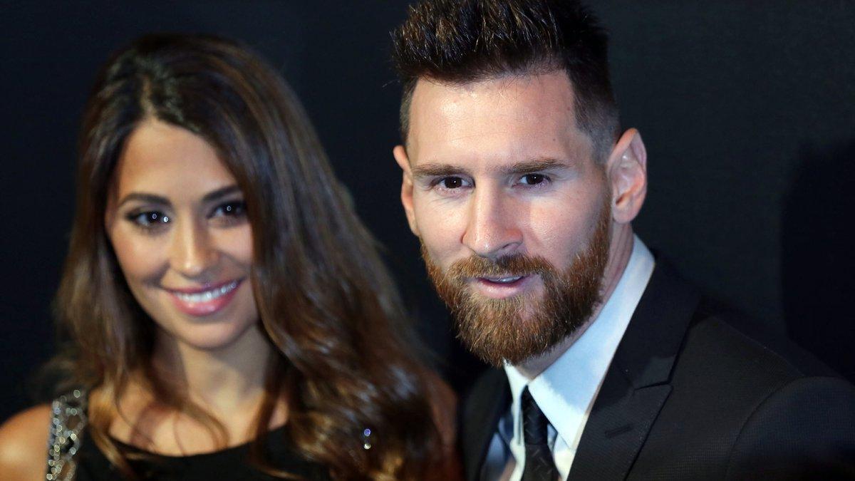 Messi et Roccuzzo