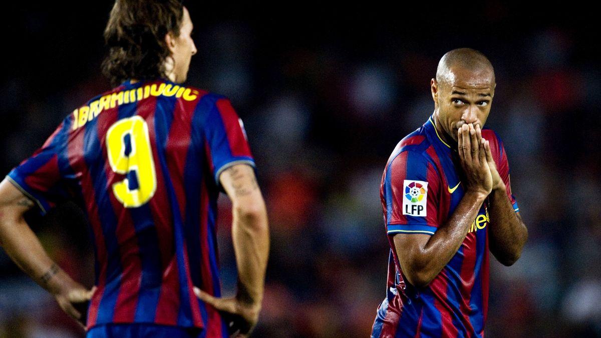 Ibrahimovic balance sur sur Messi, Henry et Guardiola