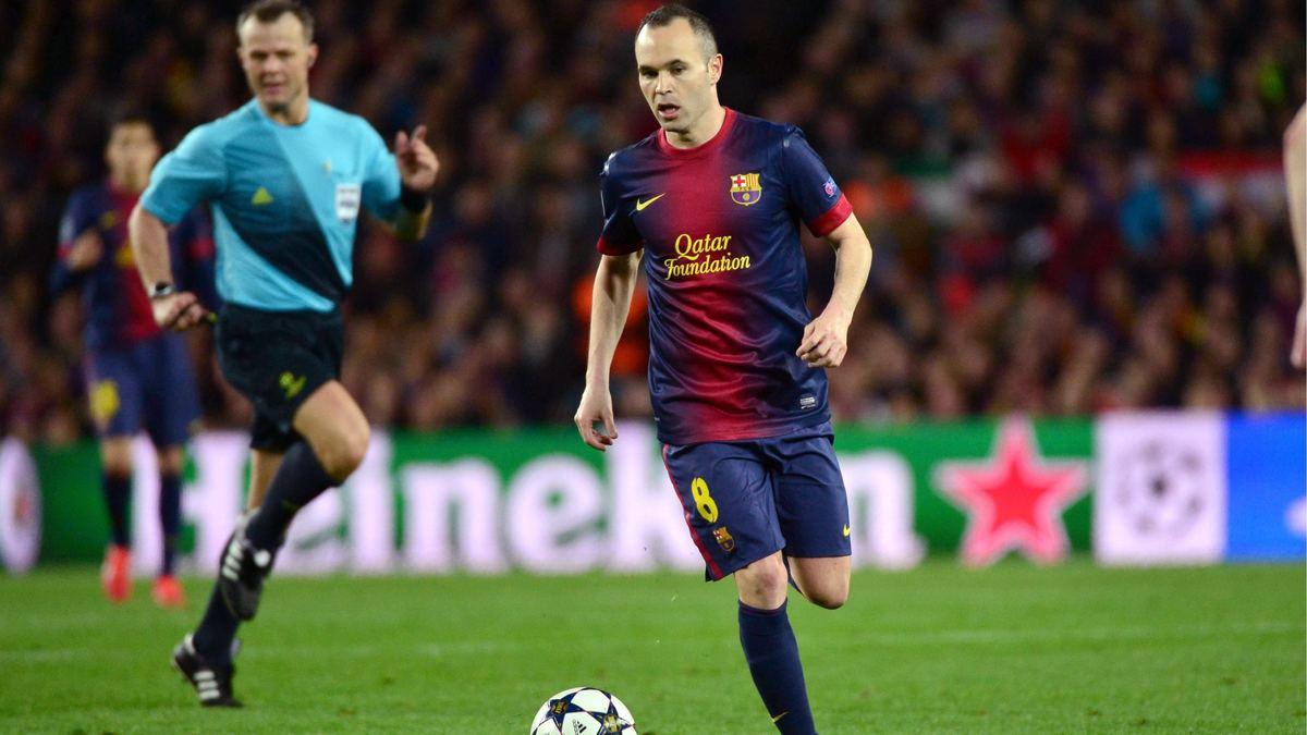 Iniesta et Messi