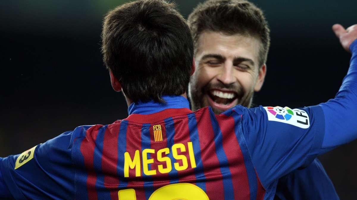 La sortie à 4 de Messi, Piqué, Shakira et Antonella