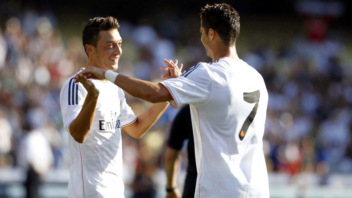 Real : Özil, le préféré de Cristiano Ronaldo