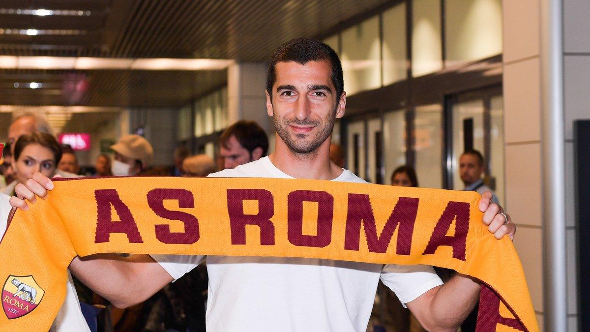 Mercato - Officiel : Mkhitaryan s'engage à l'AS Rome !