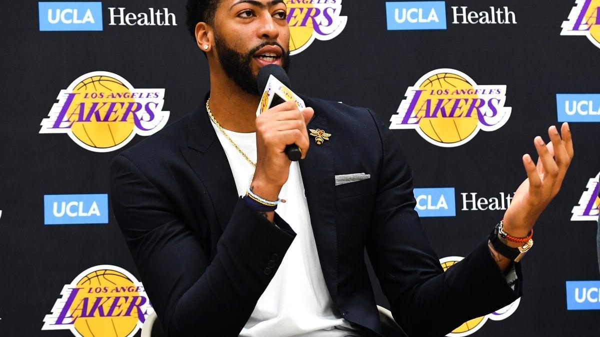 Basket - NBA : Anthony Davis affiche ses ambitions pour LeBron James et les Lakers !