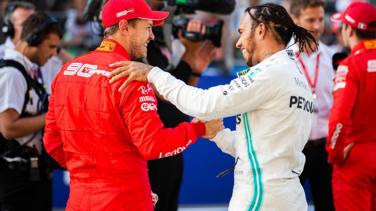 Formule 1 : Sebastian Vettel rend un vibrant hommage à Lewis Hamilton !