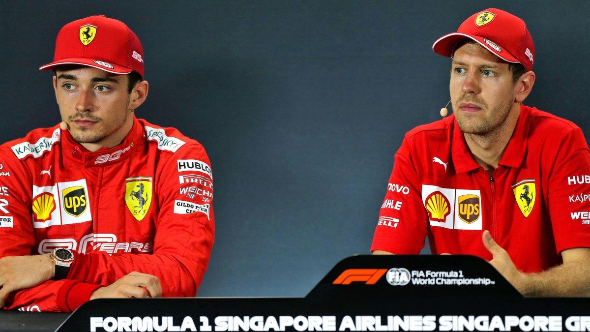 Formule 1 : Lewis Hamilton juge le duo Leclerc-Vettel !