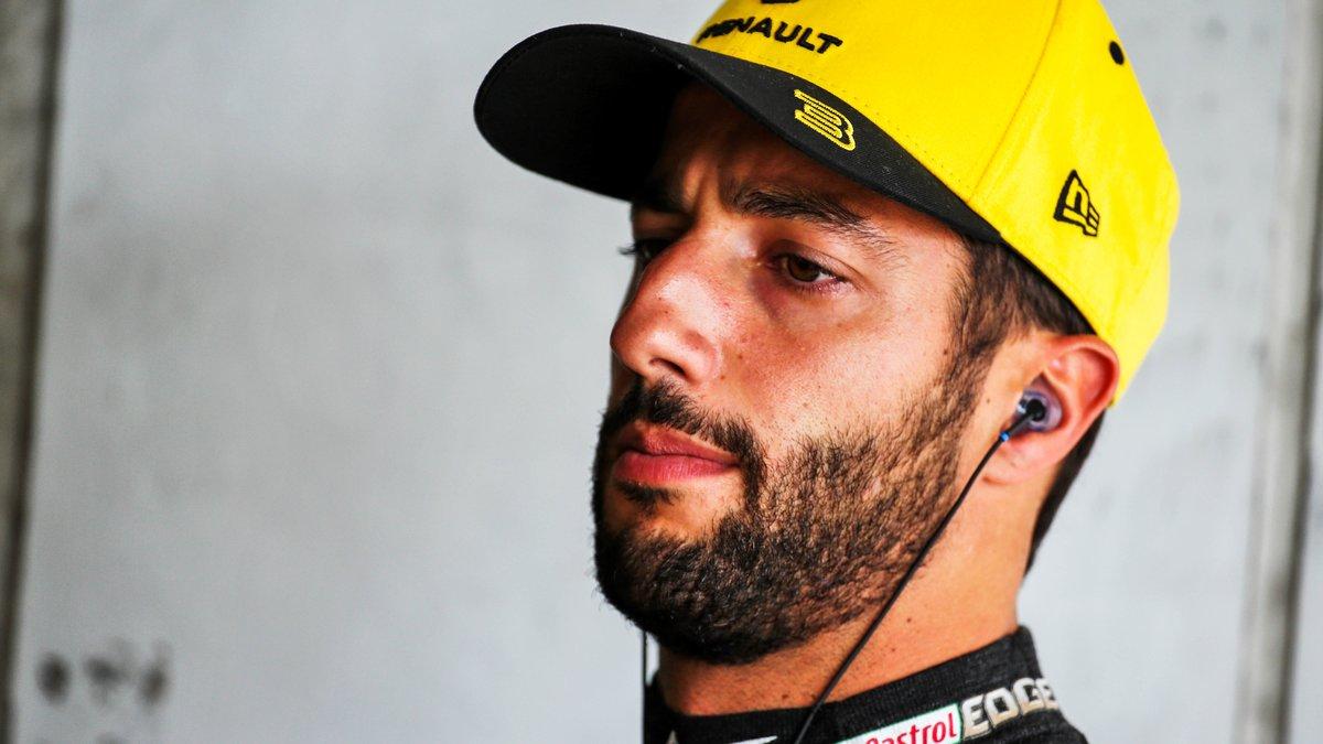 Formule 1 : Daniel Ricciardo annonce la couleur pour 2020 !