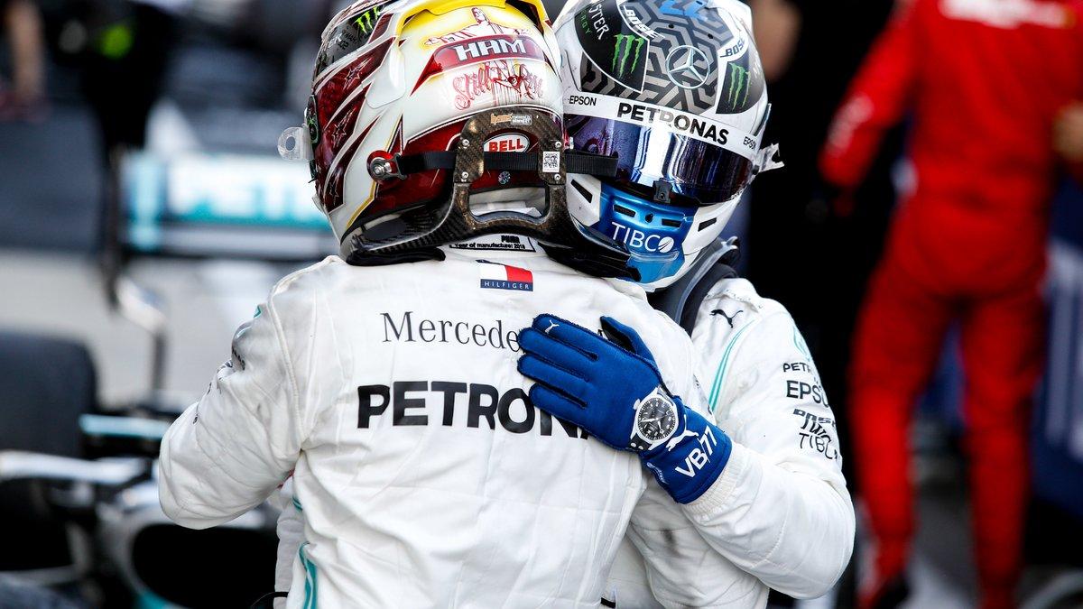 Formule 1 : Bottas annonce déjà la couleur à Hamilton pour la saison prochaine !