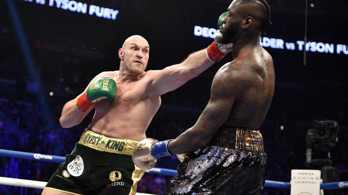 Boxe : Tyson Fury évoque déjà une nouvelle revanche avec Deontay Wilder !