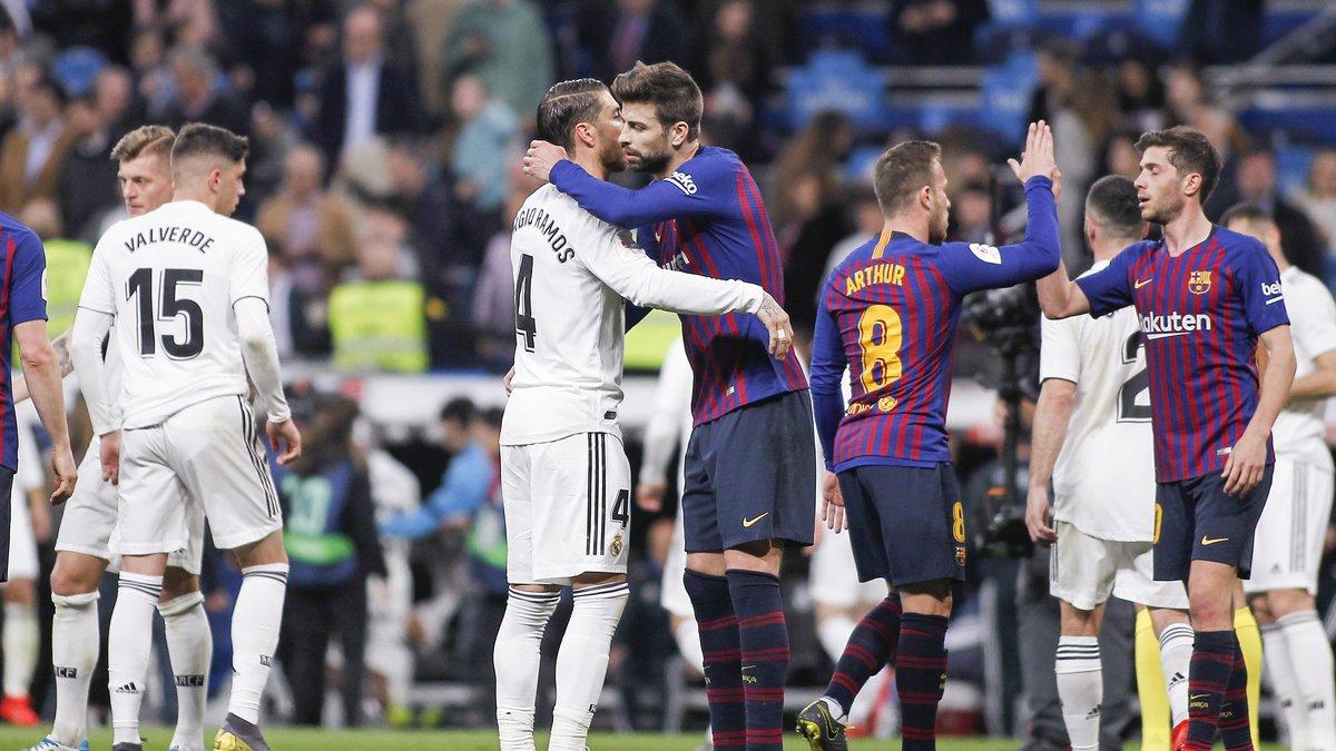 Barcelone/Real Madrid : Gerard Piqué envoie un message très fort à Sergio Ramos !