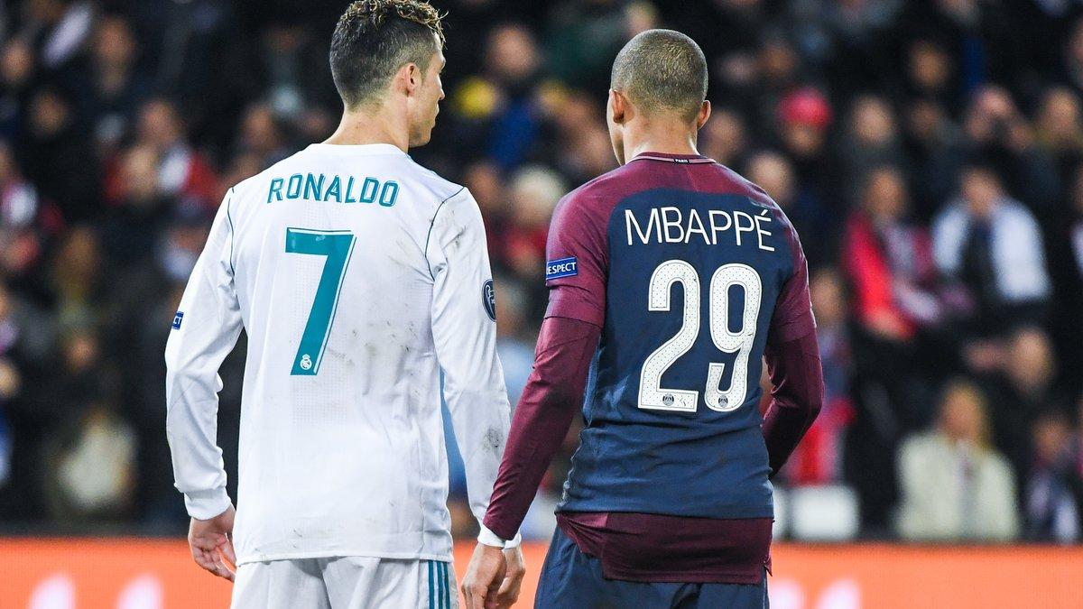 PSG : Kylian Mbappé affiche son admiration pour Cristiano Ronaldo !