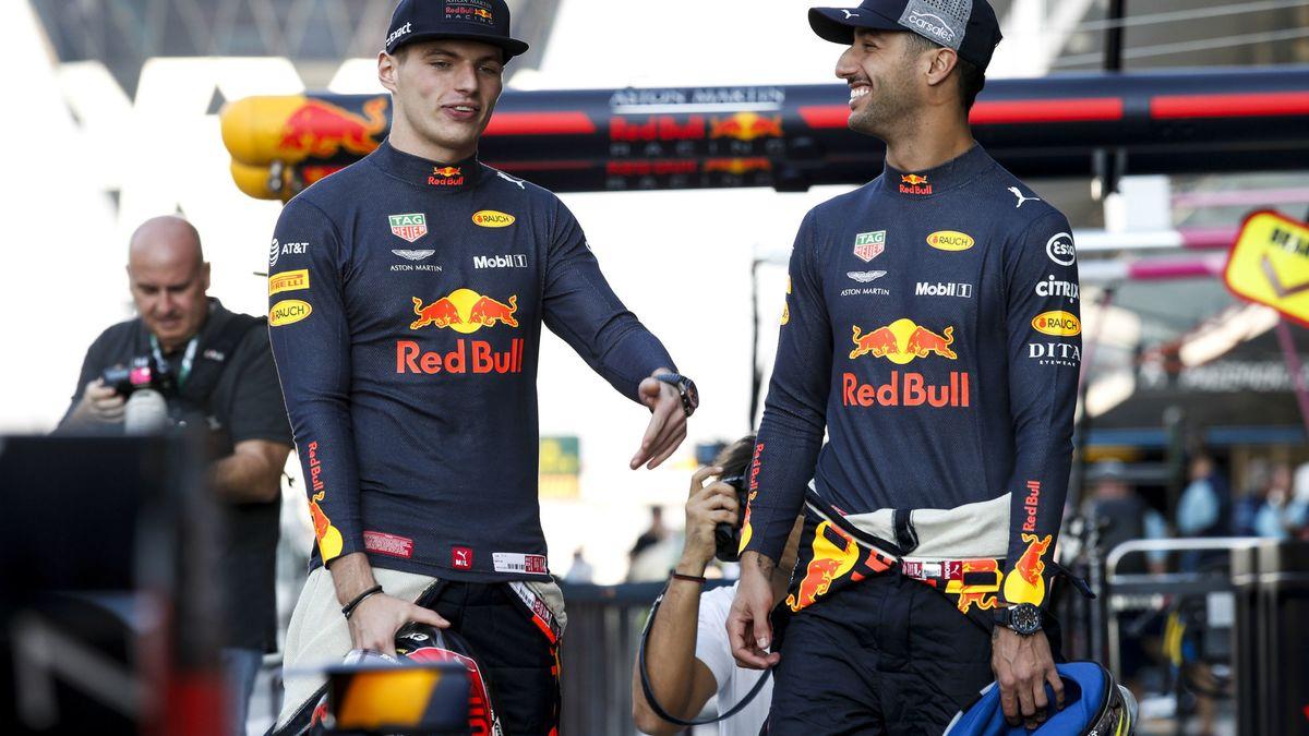 Formule 1 : Daniel Ricciardo s'enflamme pour Max Verstappen…