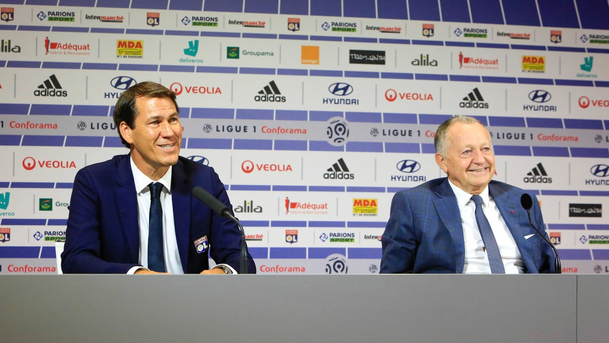OL : Rudi Garcia s'enflamme pour Jean-Michel Aulas !