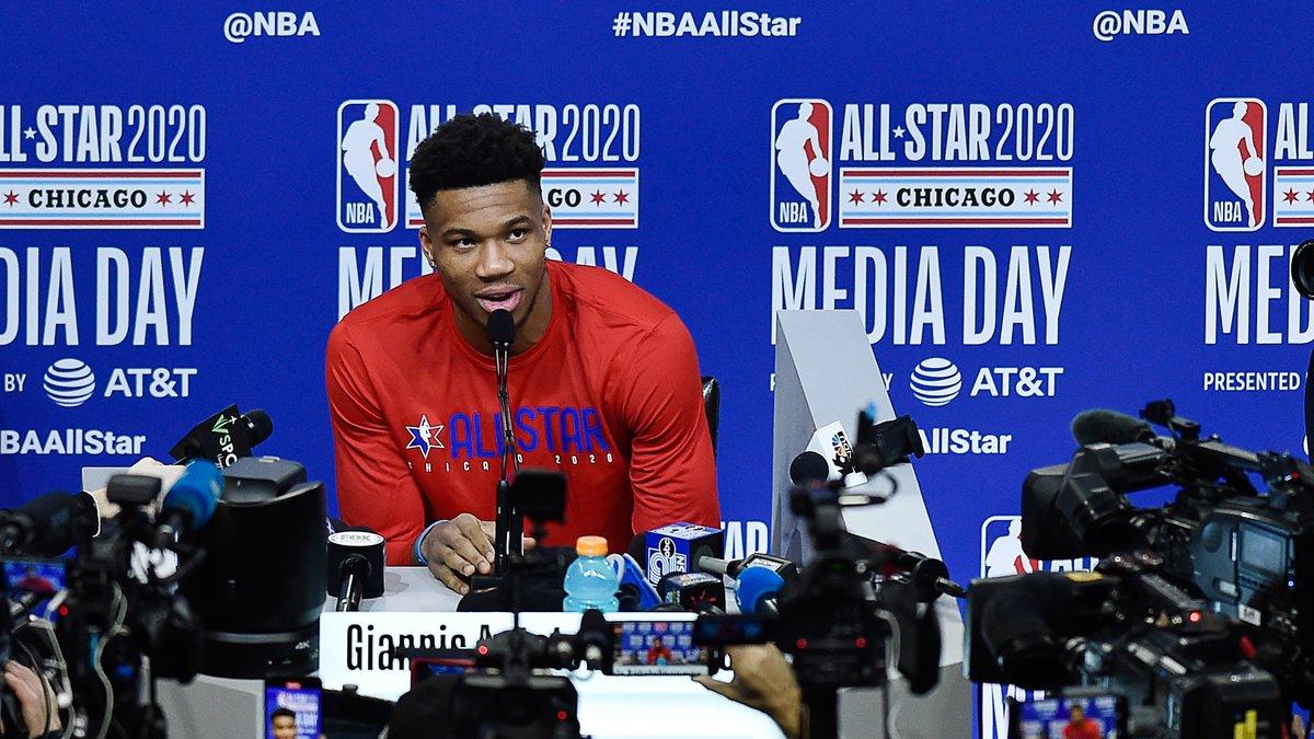 Basket - NBA : Giannis Antetokounmpo s'enflamme pour le All-Star Game 2020 !