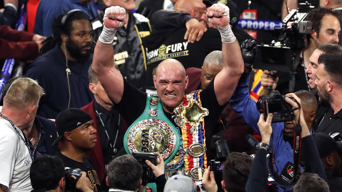 Boxe : Tyson Fury s'enflamme pour sa victoire contre Deontay Wilder !