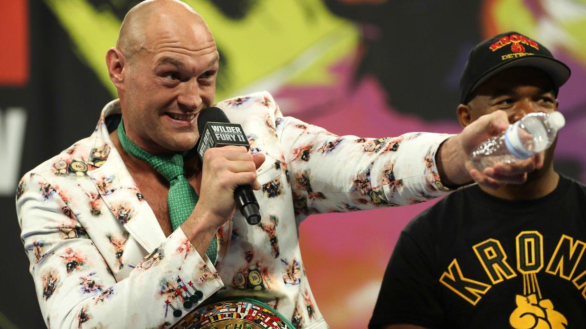 Boxe : Wilder, Joshua… Tyson Fury évoque la date de sa retraite !