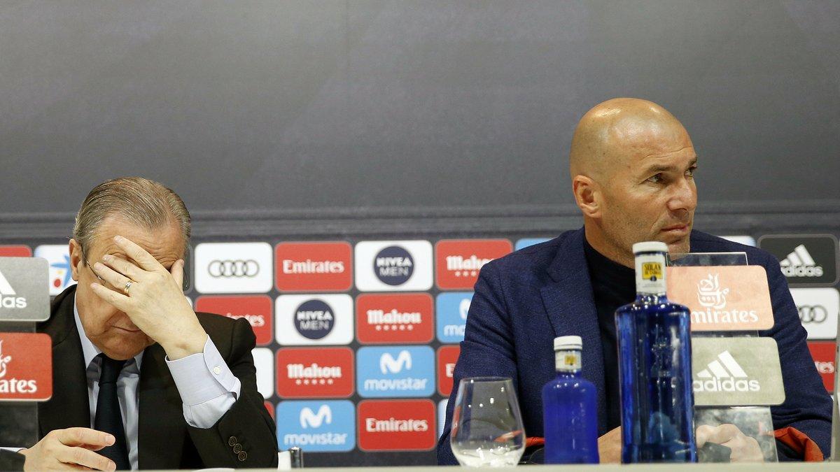 Mercato - Real Madrid : La tension monte entre Zidane et ses dirigeants ! - Le 10 Sport