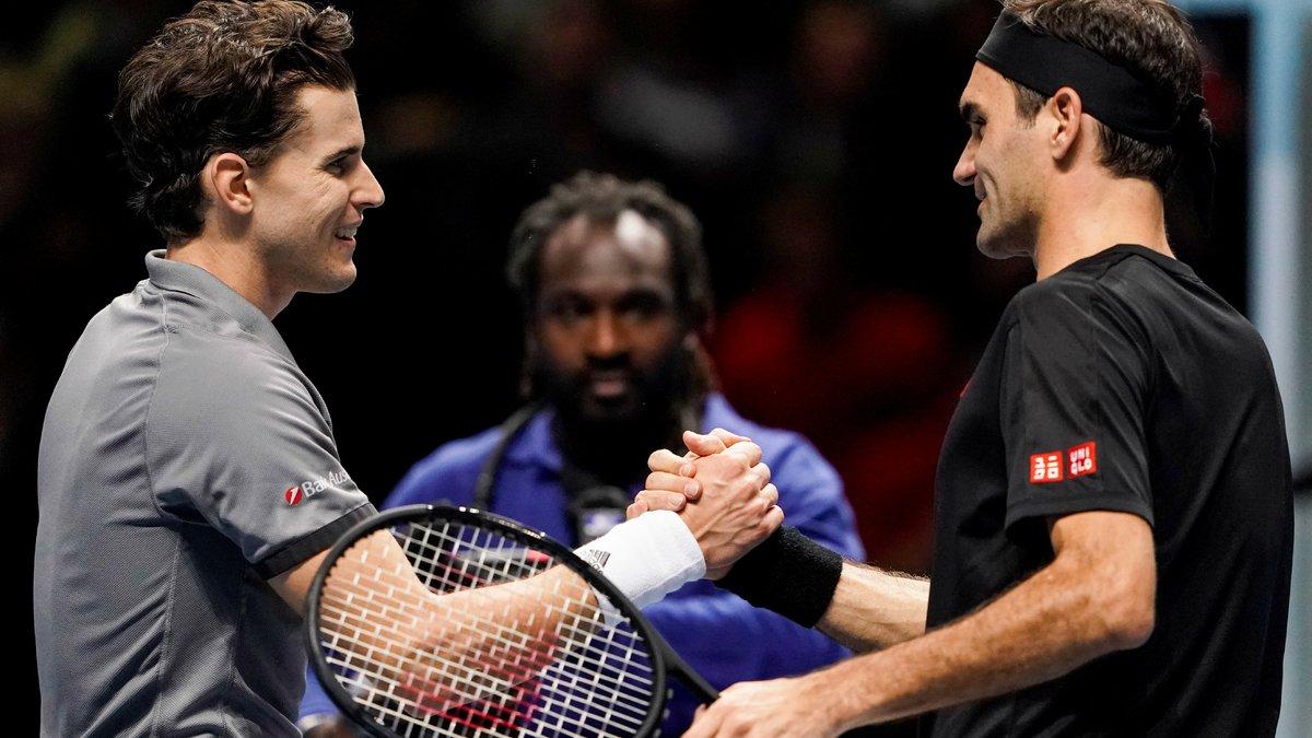 Tennis : Dominic Thiem déclare sa flamme à Roger Federer !