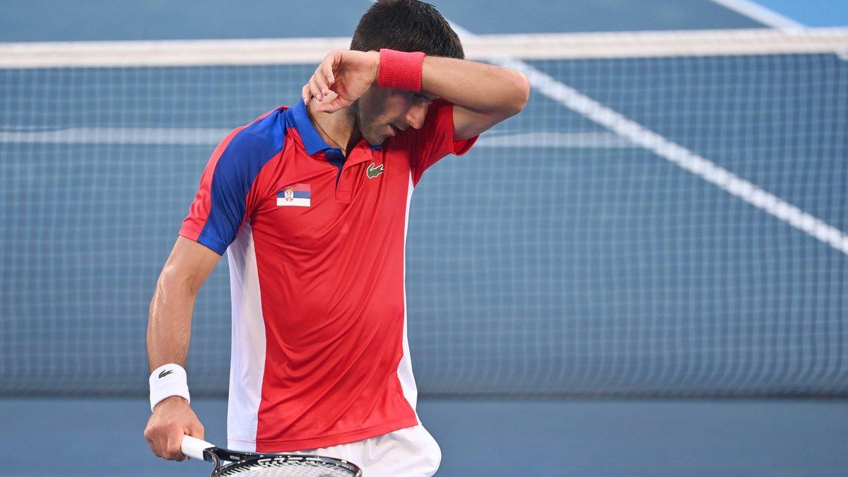 Tennis - JO : Le mea culpa de Novak Djokovic après son coup de sang !