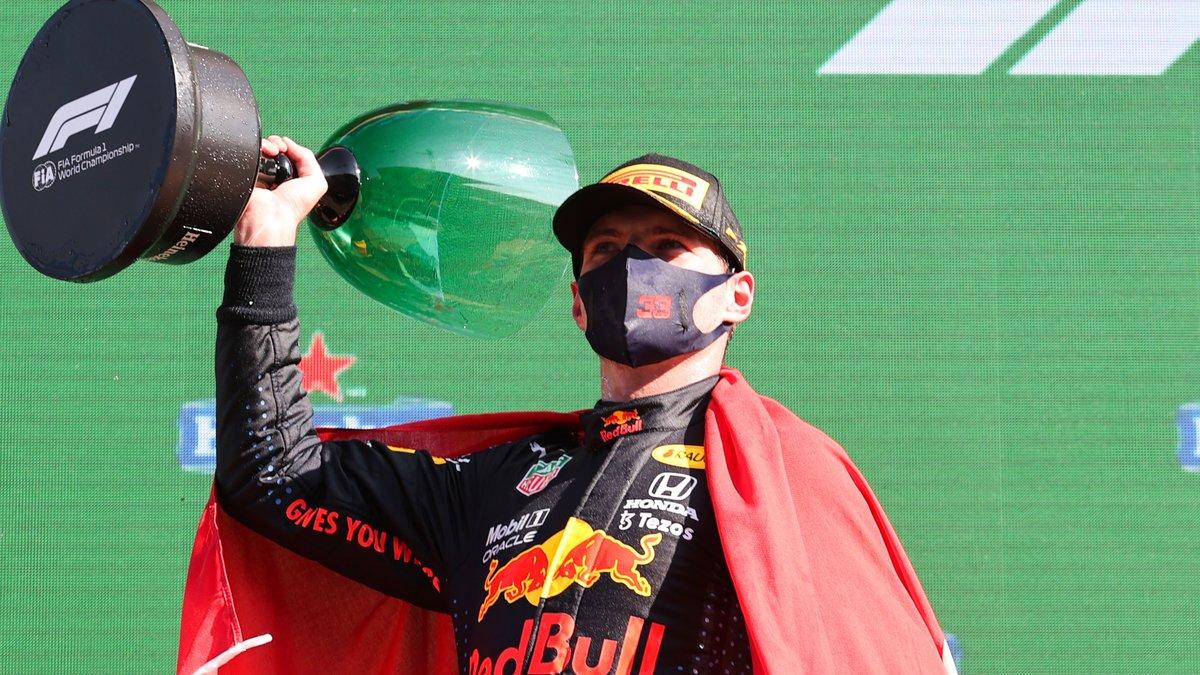 Formule 1 : Red Bull est reconnaissant envers Verstappen !