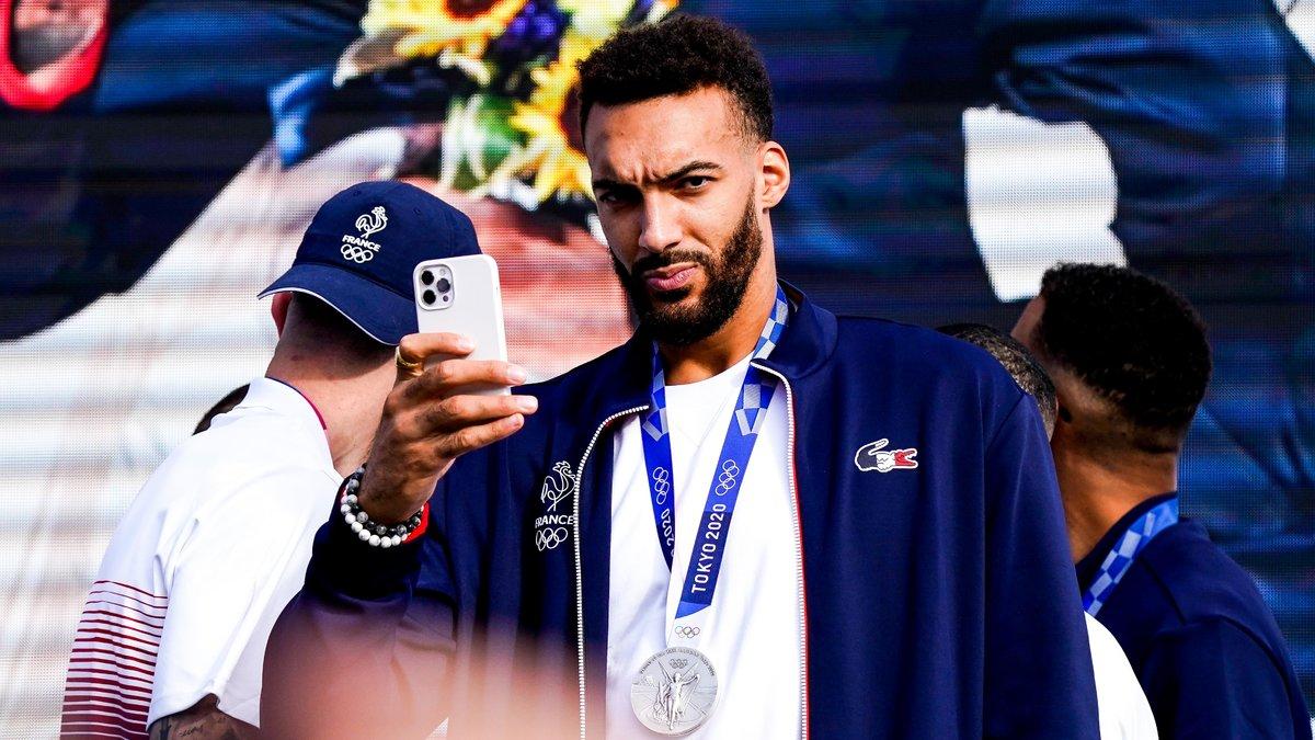 Basket : Rudy Gobert évoque la rage de vaincre de l'Équipe de France !