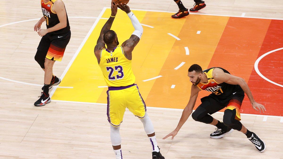 Basket - NBA : L'énorme aveu de Rudy Gobert sur LeBron James !