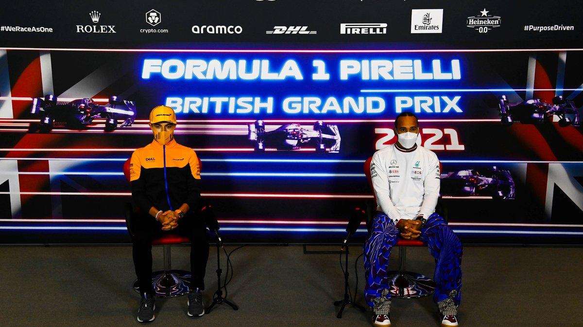 Formule 1 : Lewis Hamilton envoie un message très fort à Norris !