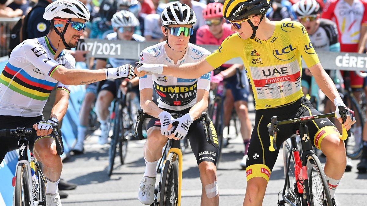Cyclisme : Pogacar s'enflamme complétement pour Alaphilippe !