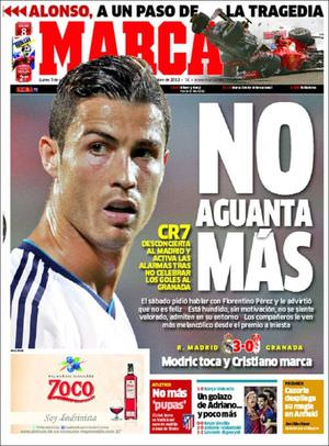 Ronaldo veut quitter Madrid ! Marca20